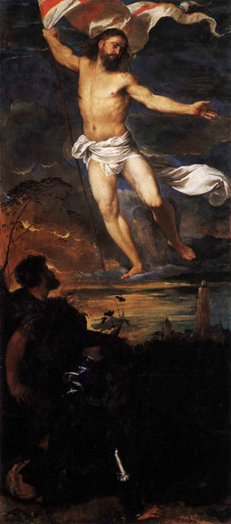 Polyptych Of The Resurrection Resurrection By Titian Art Reproduction