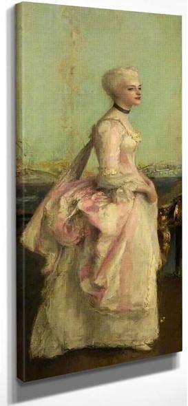 Portrait Of A Lady By Pascal Dagnan Bouveret
