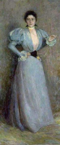 Portrait Of Madame Piettre By Henri Le Sidaner Art Reproduction