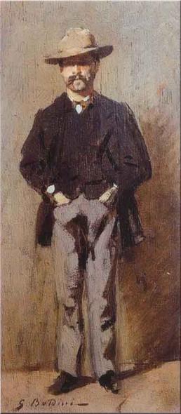 Portrait Of Poldo Pisani By Giovanni Boldini Art Reproduction