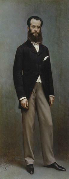 Portrait Of Ramon De Errazu By Raimundo De Madrazo Y Garreta Art Reproduction