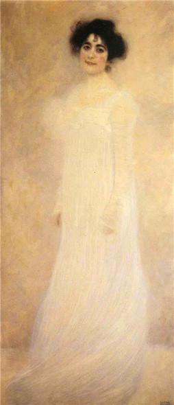 Portrait Of Serena Lederer By Gustav Klimt Art Reproduction
