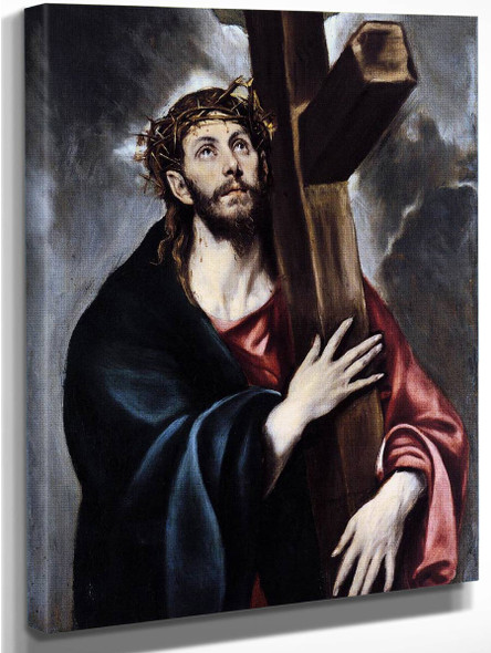 Christ Carrying The Cross By El Greco By El Greco