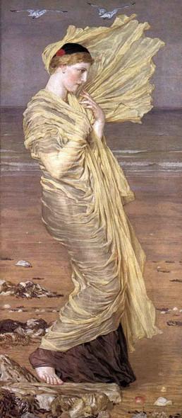 Sea Gulls By Albert Joseph Moore, A.R.W.S.