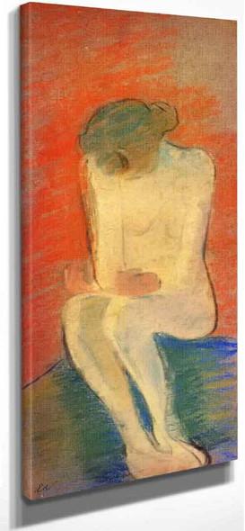 Seated Nude By Edouard Vuillard