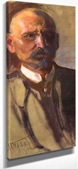 Self Portrait 4 By Leon Jan Wyczolkowski