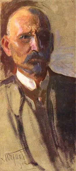 Self Portrait 4 By Leon Jan Wyczolkowski Art Reproduction