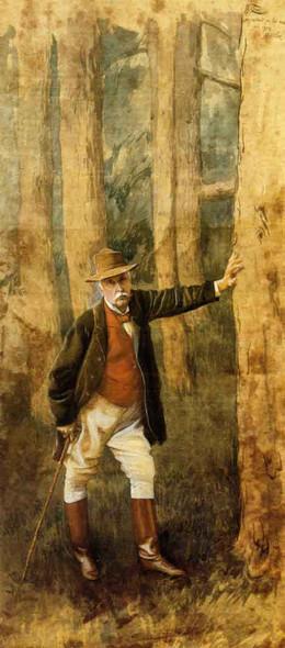 Self Portrait By James Tissot Art Reproduction