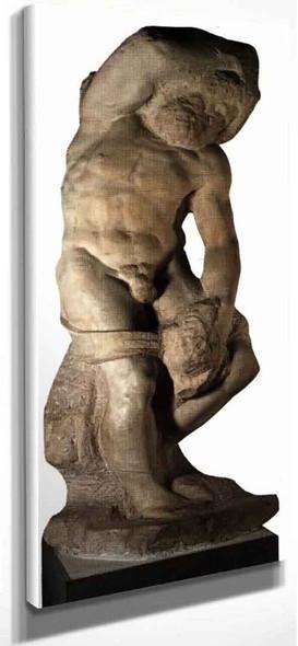 Slave (Bearded) By Michelangelo Buonarroti(Italian, 1475 1564) By Michelangelo Buonarroti(Italian, 1475 1564)