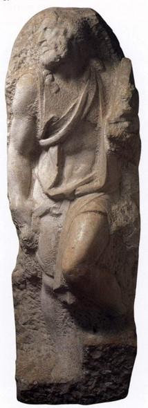 St Matthew By Michelangelo Buonarroti Art Reproduction