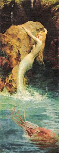 The Mermaid By William Arthur Breakspeare Art Reproduction