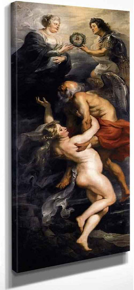 The Triumph Of Truth By Peter Paul Rubens