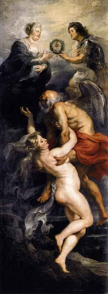 The Triumph Of Truth By Peter Paul Rubens Art Reproduction