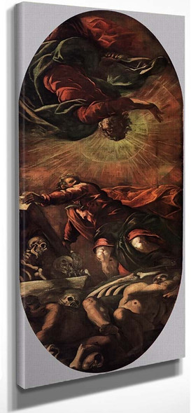 The Vision Of Ezekiel By Jacopo Tintoretto