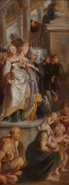 Three Female Witnesses By Peter Paul Rubens