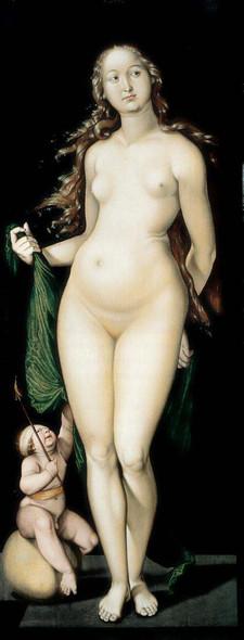 Venus And Cupid By Hans Baldung Grien Art Reproduction