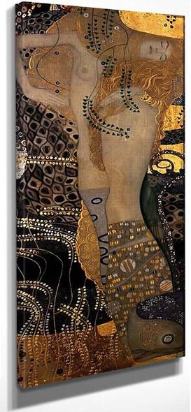 Wasserschlangen I By Gustav Klimt