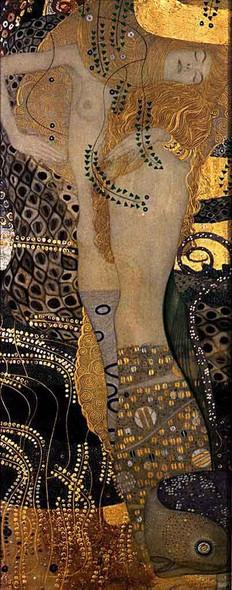 Wasserschlangen I By Gustav Klimt Art Reproduction