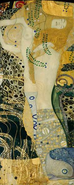 Water Snakes By Gustav Klimt Art Reproduction