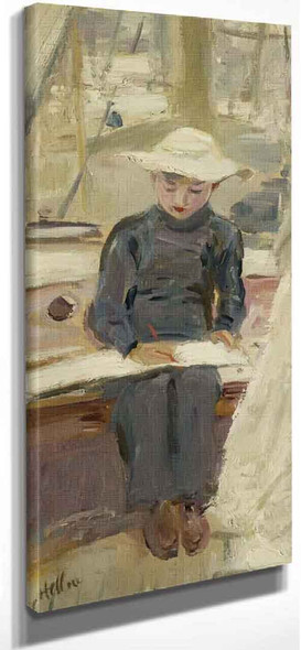 Young Graphic Artist By Paul Cesar Helleu