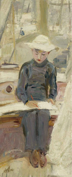 Young Graphic Artist By Paul Cesar Helleu Art Reproduction