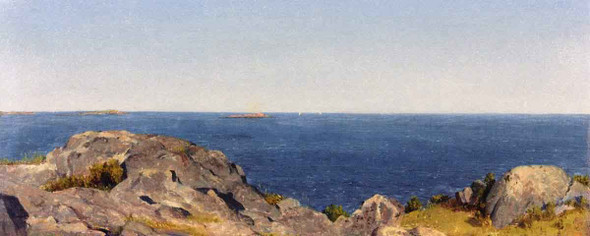 A Sketch At Manchester, Massachusetts By Sanford Robinson Gifford
