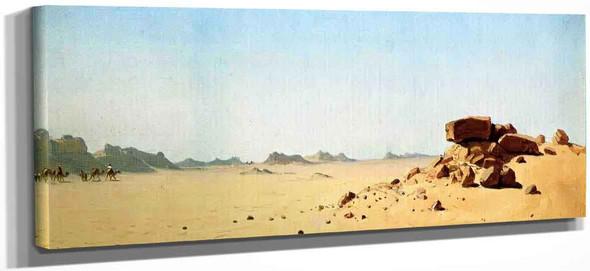 Assouan, Egypt, A Sketch By Sanford Robinson Gifford