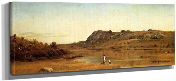 Cape Ann, Massachusetts By Sanford Robinson Gifford