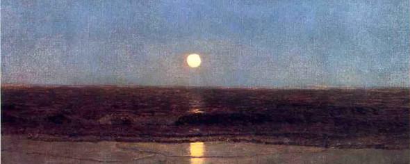 Coastal Sunset By Sanford Robinson Gifford