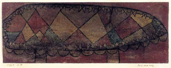Cushioned Seat By Paul Klee