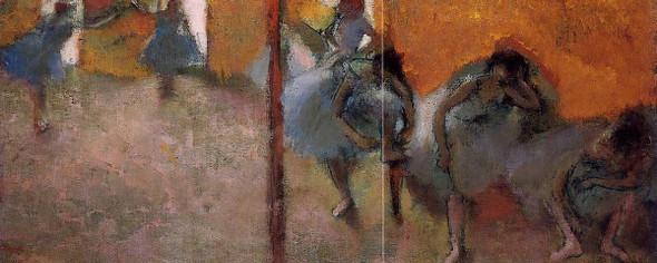 Dancers In A Studio By Edgar Degas