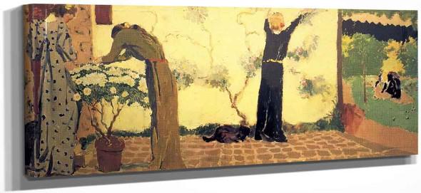 Gardening By Edouard Vuillard