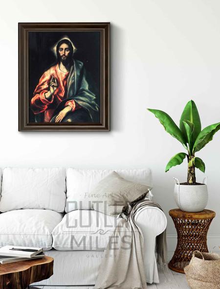 Christ1 By El Greco By El Greco