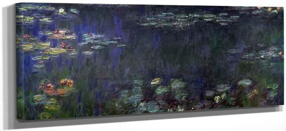 Green Reflection  By Claude Oscar Monet