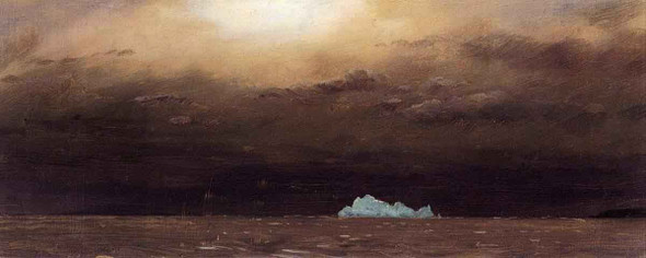 Iceberg, Newfoundland By Frederic Edwin Church By Frederic Edwin Church