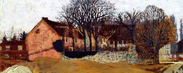 La Grangette At Valvins By Edouard Vuillard