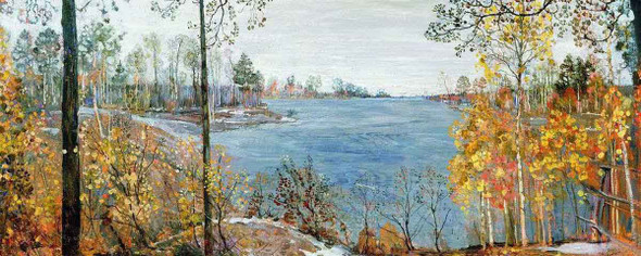 Late Autumn By Isaak Brodsky