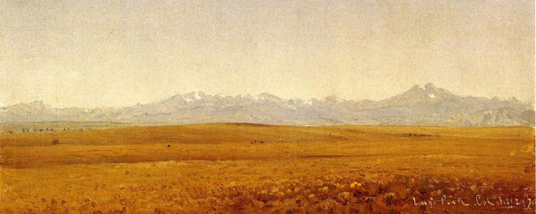 Long's Peak, Colorado By Sanford Robinson Gifford