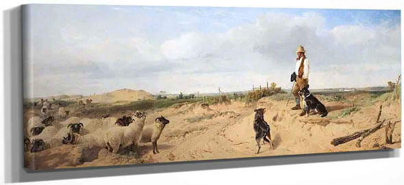 Lytham Sand Hills By Richard Ansdell