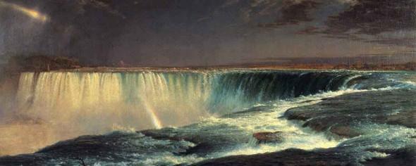 Niagara Falls By Frederic Edwin Church By Frederic Edwin Church