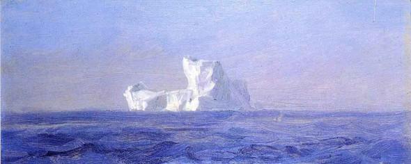 Off Iceberg, Newfoundland By Frederic Edwin Church By Frederic Edwin Church