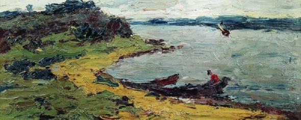 On The White Sea1 By Abram Efimovich Arkhipov