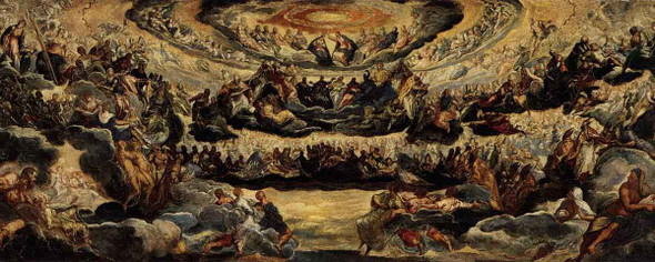 Paradise By Jacopo Tintoretto