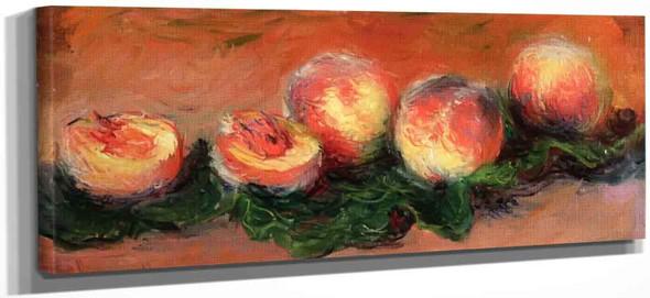 Peaches By Claude Oscar Monet