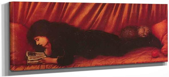 Portrait Of Katie Lewis By Sir Edward Burne Jones