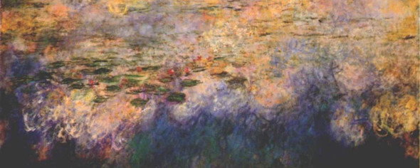 Reflections Of Clouds On The Water Lily Pond  By Claude Oscar Monet