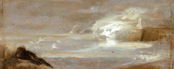Seascape By Jean Baptiste Carpeaux