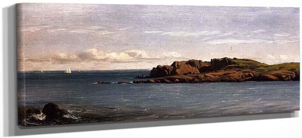 Study On The Massachusetts Coast By Sanford Robinson Gifford