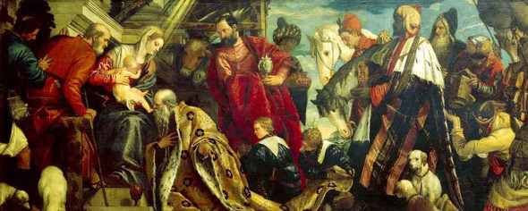 The Adoration Of The Magi3 By Paolo Veronese