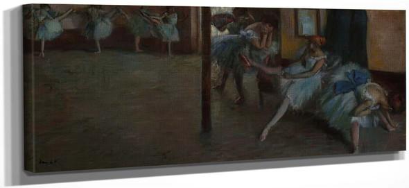 The Ballet Rehearsal By Edgar Degas